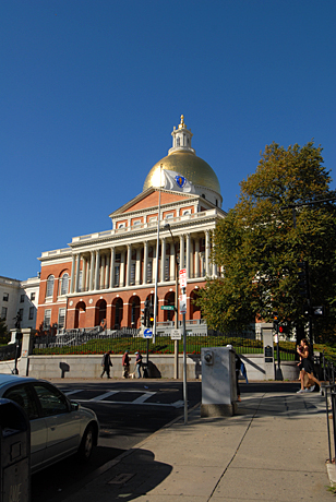 The State House - Boston, Mass.